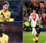 Barcelona Players Who Could Go To PSG In Neymar Deal