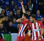 Leicester City 1 Atletico Madrid 1 (1-2 agg)
