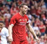 Milner nets twice as Liverpool sees off Bradford