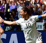 Delight and despair for USA and Japan fans