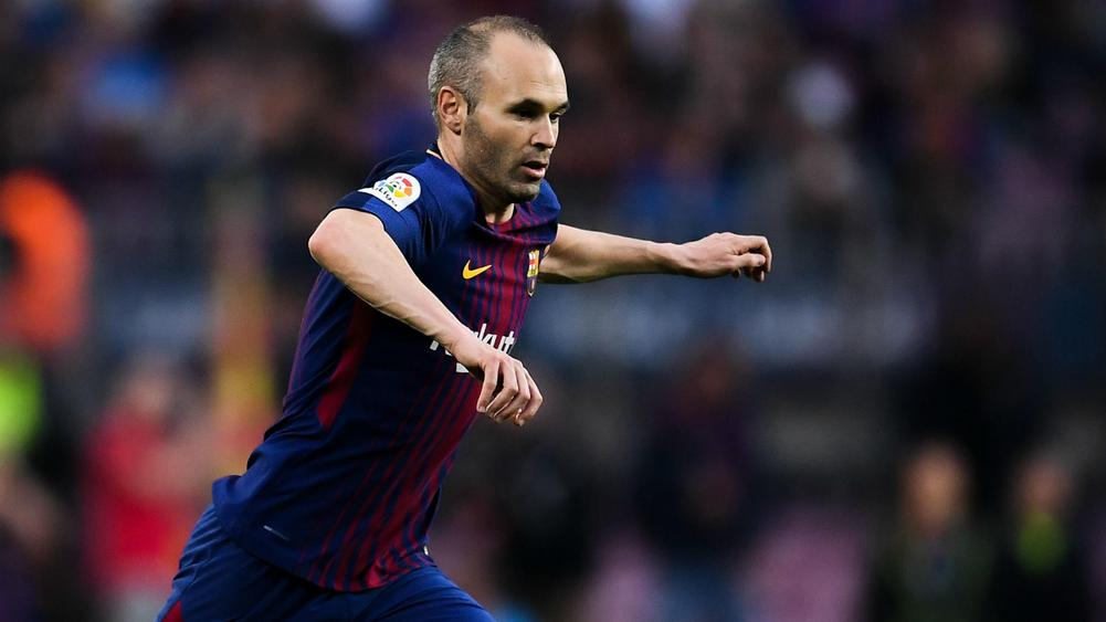 Andres Iniesta names Louis Van Gaal as his best Barcelona manager