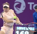 Halep Races Into Qatar Third Round