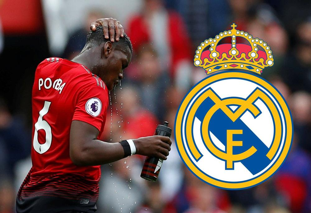 Pogba Manchester United Real Madrid