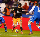 Valencia Keep LaLiga Pace With Win Over Deportivo