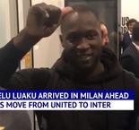 Inter fans have mixed feelings about Lukaku