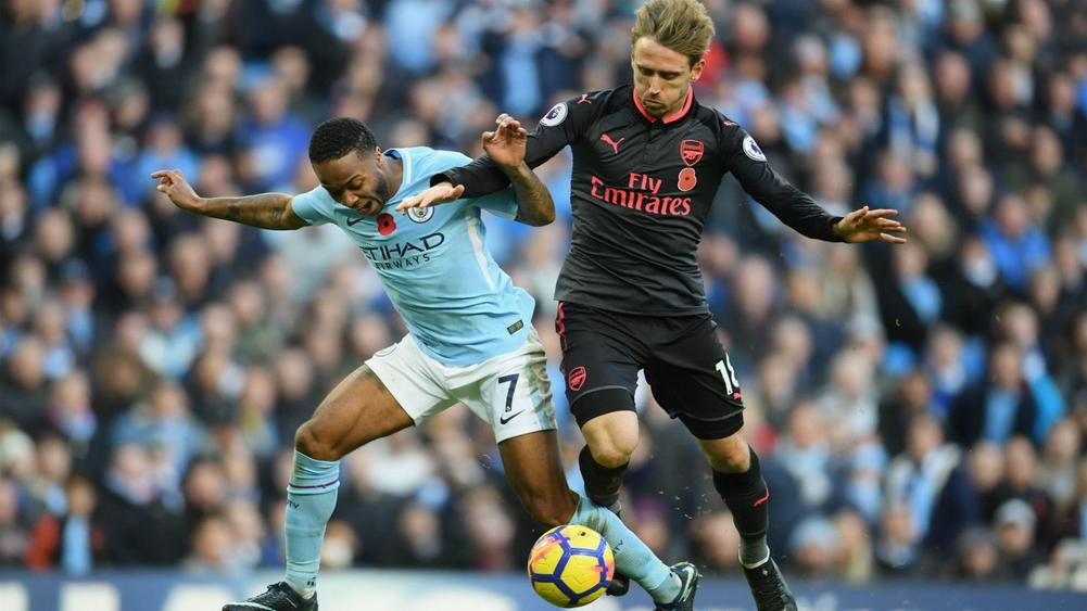 Gunners to revive interest in Man City 'diver' Raheem Sterling in January