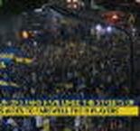 Boca fans give players epic send-off