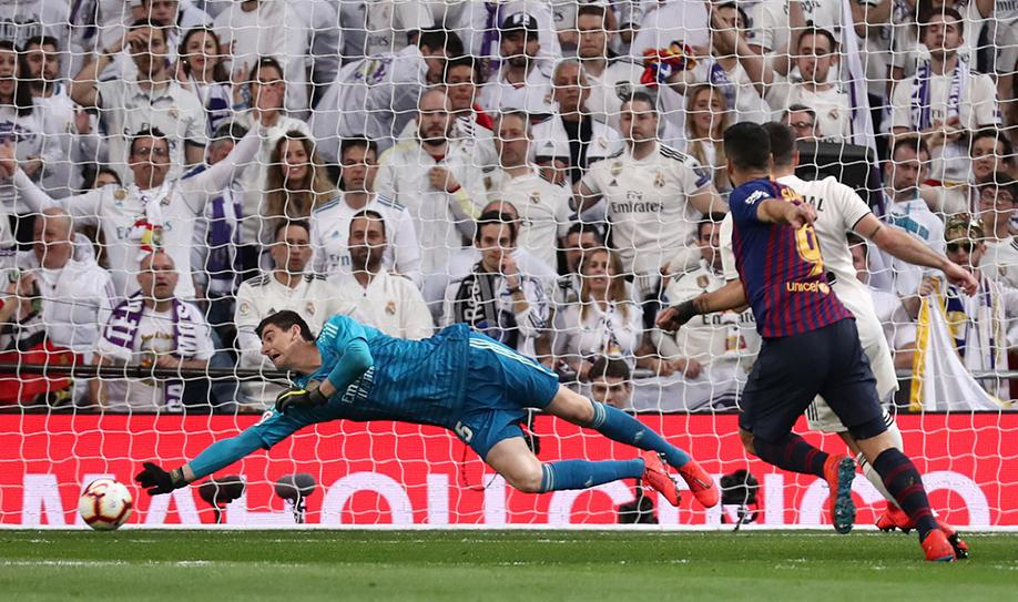Real Madrid 0-1 Barcelona