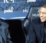 I'd love to have played alongside Mbappe - Pele