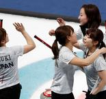 Women's Curling:Korea 8 Japan 7