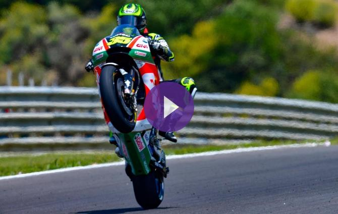 Crutchlow Takes Pole with Fastest-Ever Jerez Lap