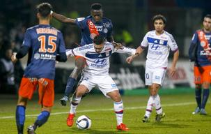 Lyon slip up against Montpellier