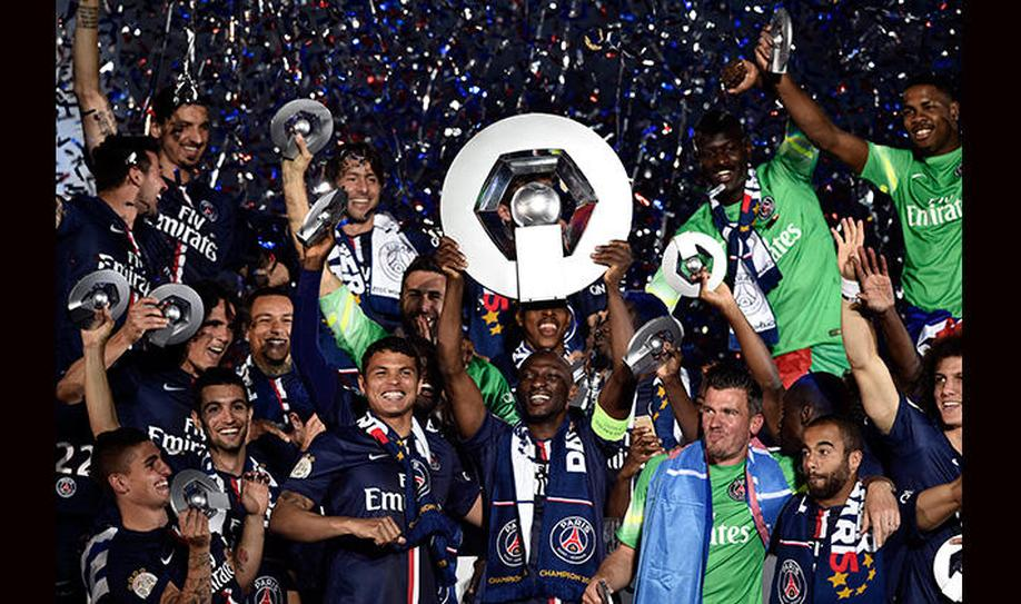 PSG 3-2 Reims: PSG celebrates title with win
