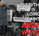 Everything is going against Arsene Wenger