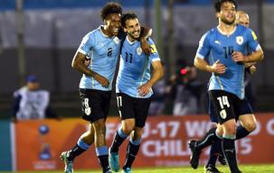 WC Qualification: Uruguay 3 - 0 Colombia