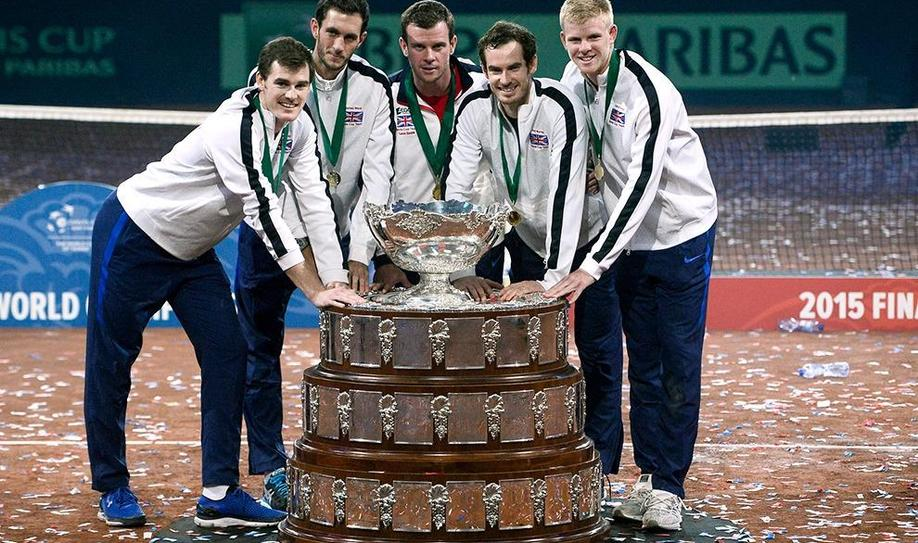 Murray defeats Goffin to lead Britain to Davis Cup glory