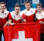 CURLING:Switzerland 7 Canada 5