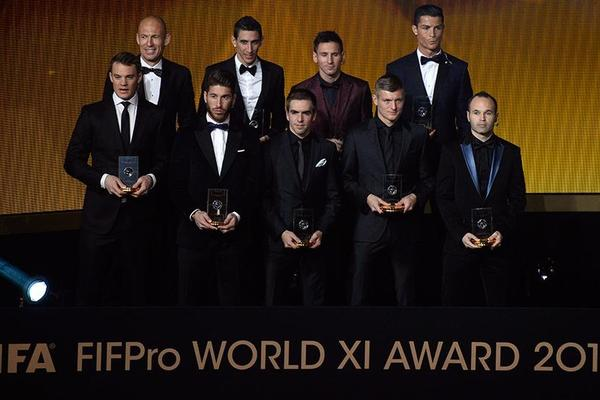 Nominees for World XI 2015 announced