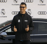 Real Madrid stars pick up their free Audis