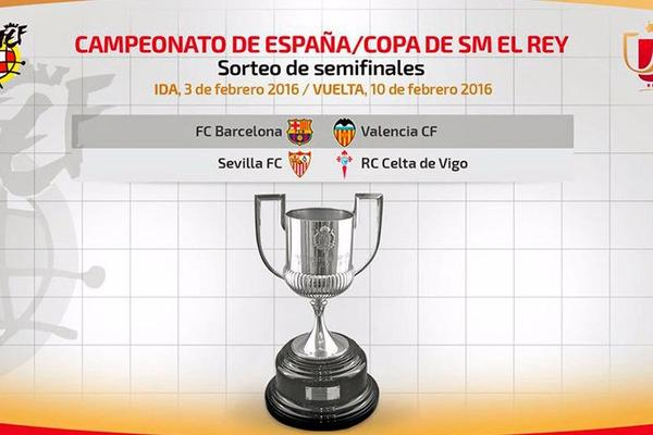 Barcelona face Valencia in Copa del Rey semi-finals