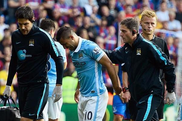Sergio Aguero to miss Manchester City clash with Juventus