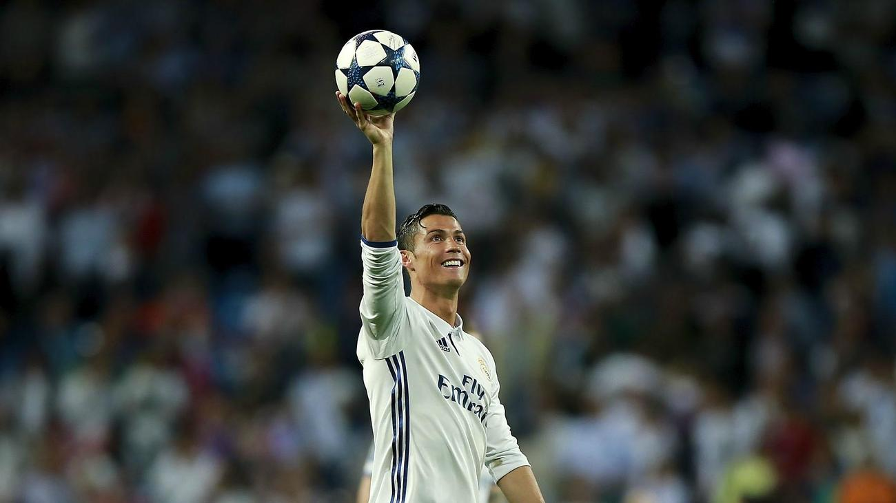 Image result for Ronaldo in UCL with Real madrid