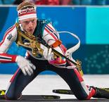 Boe! Norwegian ace guns to first biathlon gold