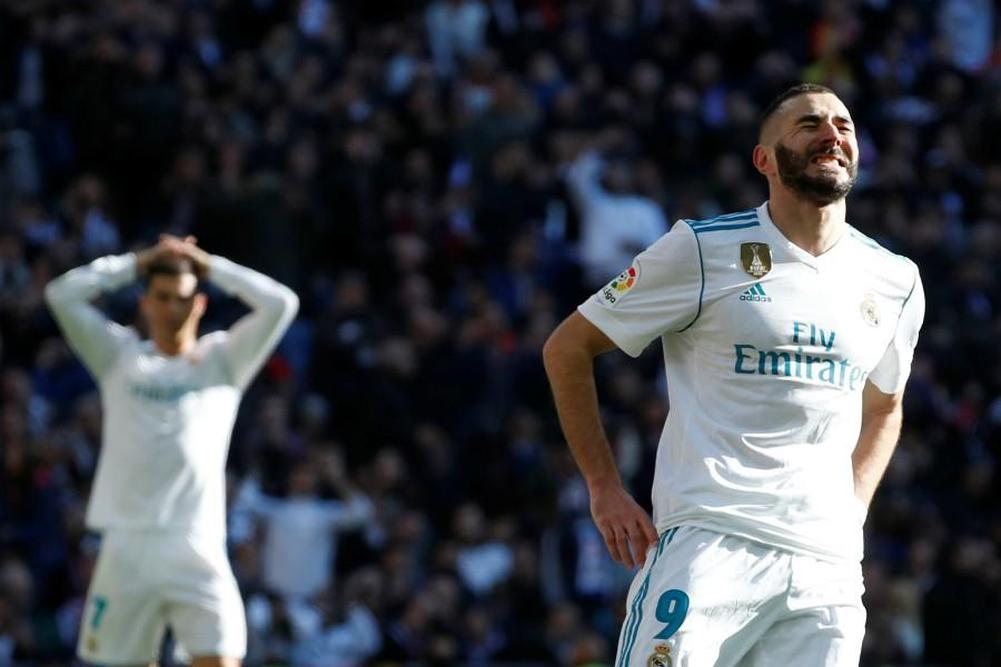 Real Madrid: Benzema, une sacrée poisse