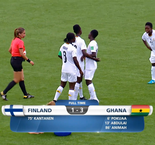 World Cup - Women U17: Finland 1 Ghana 3