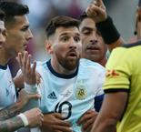 Messi Red Card Baffles Argentina Boss Scaloni