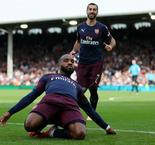 Lacazette leads Arsenal to ninth straight win