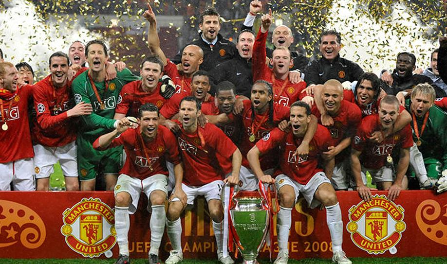8. Manchester United (3 titles)