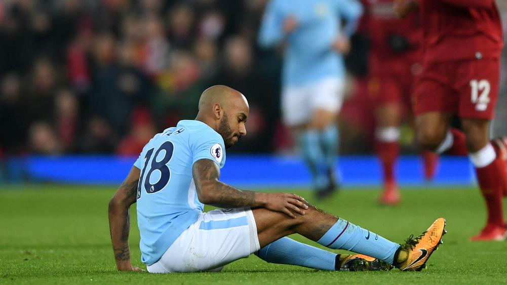 Delph blow for City