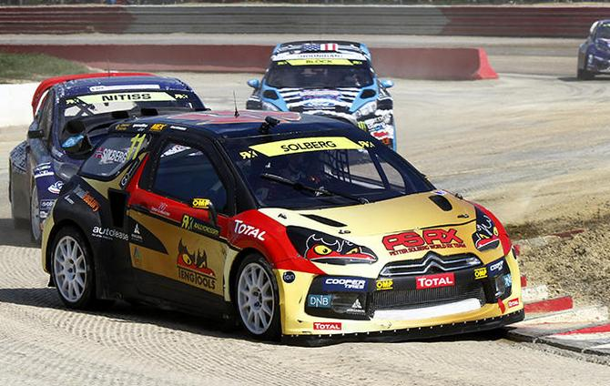 Petter Solberg looking for a repeat of last year in Portugal.