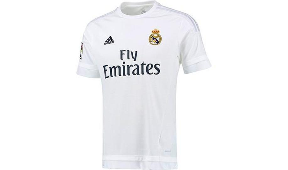 16dedd397 Official Shirts of the Top 5 La Liga Clubs in the 2015-16 Season