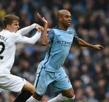 Left-back, right-back, midfield... Fernandinho happy as Guardiola's 'Mr Fixit' at Manchester City
