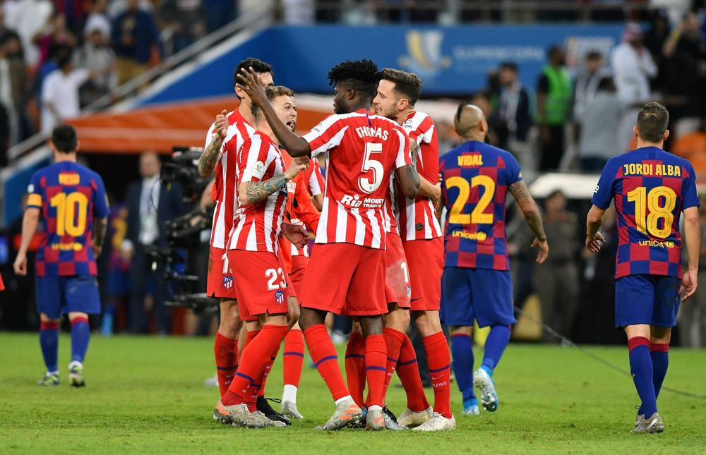 Atletico Rally To Beat Barcelona 3 2 And Set Up Supercopa Final