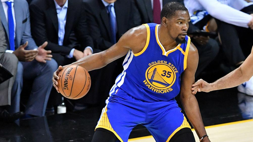 Durant pushes Warriors to 3-0 lead in NBA Finals