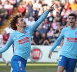 Griezmann Scores Atletico Madrid Winner Against Rayo Vallecano