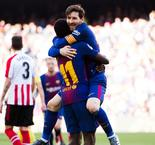 Messi scores in sixth straight as Barca cruises