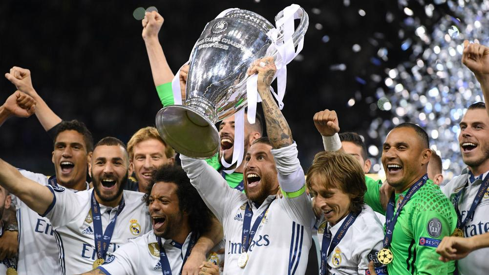 Real Madrid Dominate UEFA's Champions League Squad Of The Season