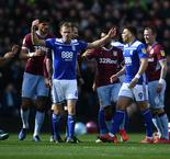 Aston Villa and Birmingham fined for derby fracas