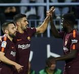 Barcelona Missing Messi, But Prevail Over Malaga