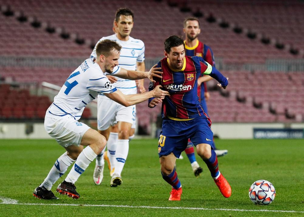 barcelona stay perfect with nervy win over dynamo kiev nervy win over dynamo kiev