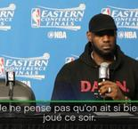 "NBA - Playoffs - LeBron : ""On n'a pas si bien joué"""