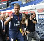 Neymar's image rights not included in PSG contract
