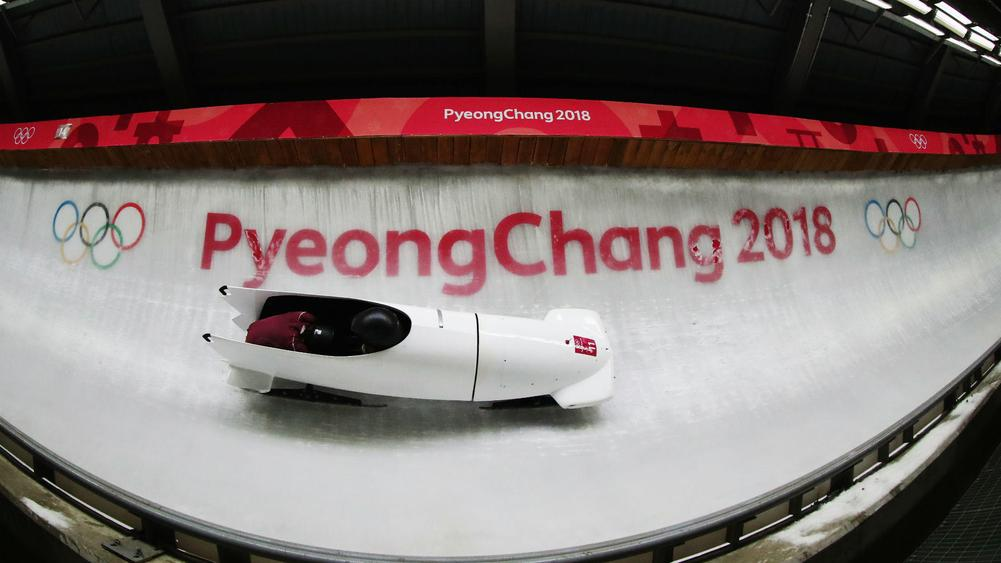 Winter Olympics 2018: Russian bobsledder wearing anti-doping jumper tests positive