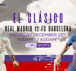 How to Watch El Clasico on beIN SPORTS