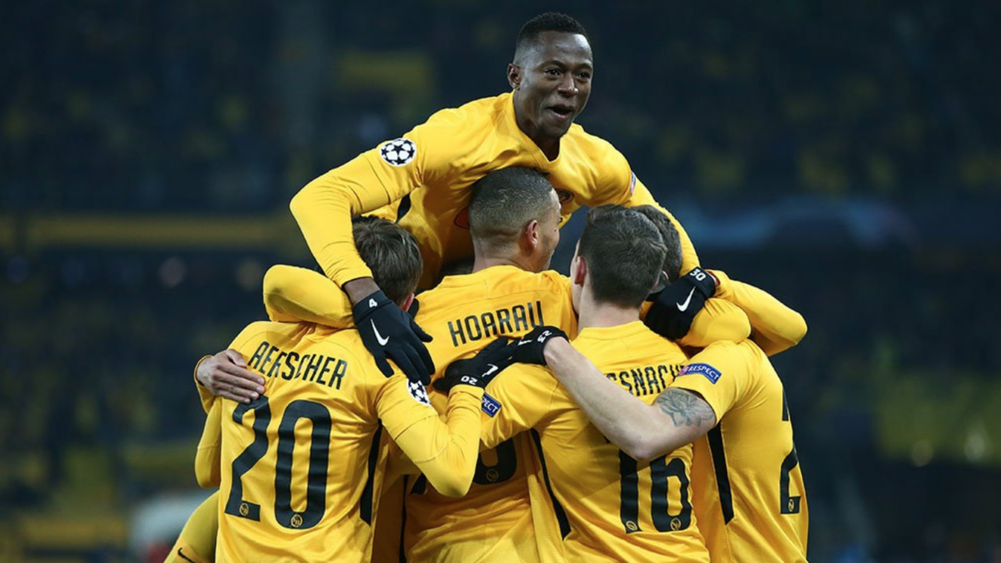 Juve finish as group winners despite Young Boys defeat