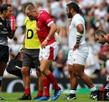 England beats Wales but both suffer injuries